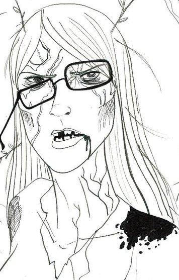 Zombie Emma by Alina Pete