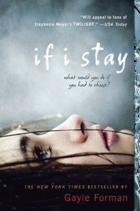 if i stay gayle forman book cover 199x300 Emma Maree Reviews If I Stay