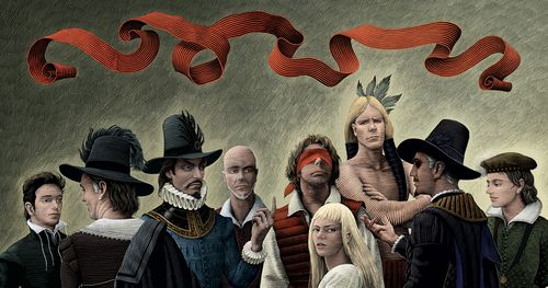 1602cover Emma Maree Reviews: Marvel 1602