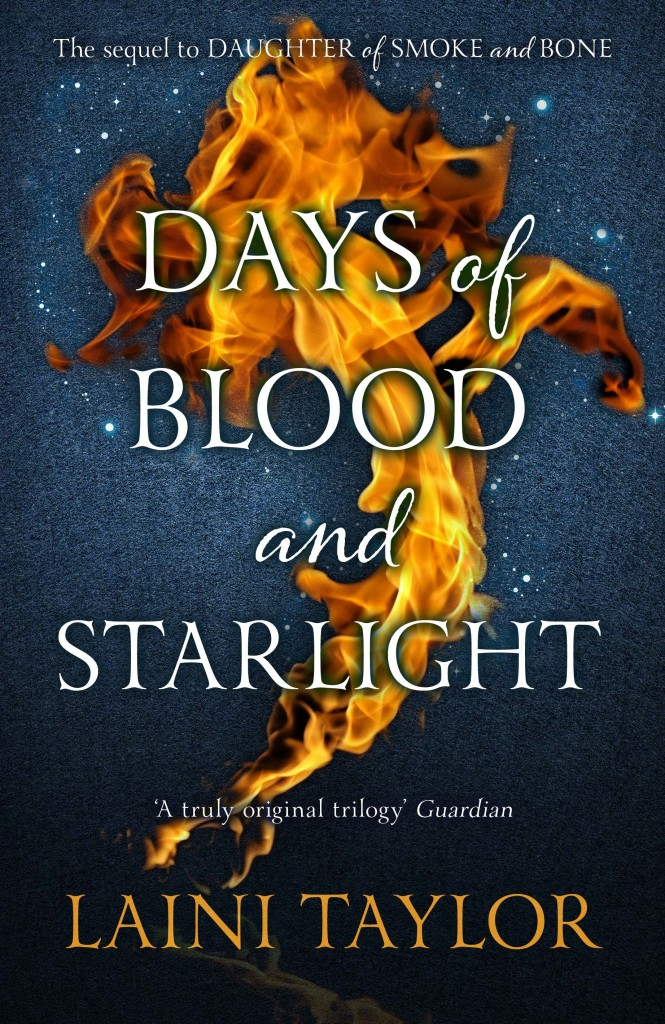 Laini Taylors DAYS OF BLOOD AND STARLIGHT UK Cover Reveal!