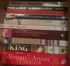 refshelf 300x282 Advice for Writers