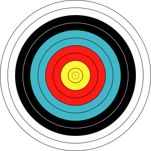 Archery Target 80cm 300x300 February Targets