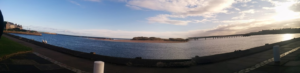 Panoramic of Lossiemouth 3 Showing the Water