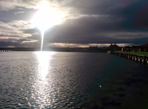 Panromic of Lossiemouth 4: The Harbour