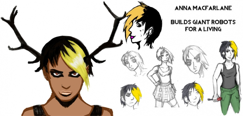 Anna from ALL THE BROKEN THINGS