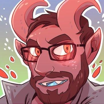 Halloween Demon Dave by Britt Sabo